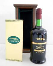 Collectors Grand Finale 1995 Australian Formula 1 Grand Prix Tawny Port 15 year old in wooden display box. No. 0796