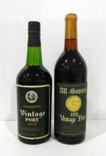 Two 1976 Vintage Ports 750ml
