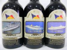 Three Great Ocean Liners Port incl. Oriana, Sea Princess & Canberra, Vintage 1980, 750ml