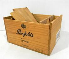 A Penfolds Grange Vintage 1996 Box for Six Bottles (empty)