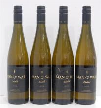 Four 2014 Man O' War Vineyards Pinot Gris Exiled Ponui Island 750ml