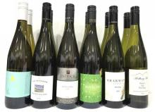 A Mixed Dozen Australian Riesling 750 ml Bottles,