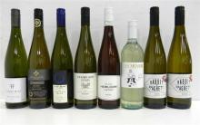 Eight Assorted Riesling's 750ml