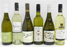 Six Assorted Sauvignon Blanc's 750ml