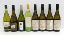 Eight assorted Chardonnay's 750ml