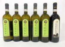 Five White & One Red Italian Wines 750ml [6]
