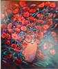 David Geoffrey Voigt (b.1943) Passion of Flowers Acrylic on canvas, David John Voigt , Click for value