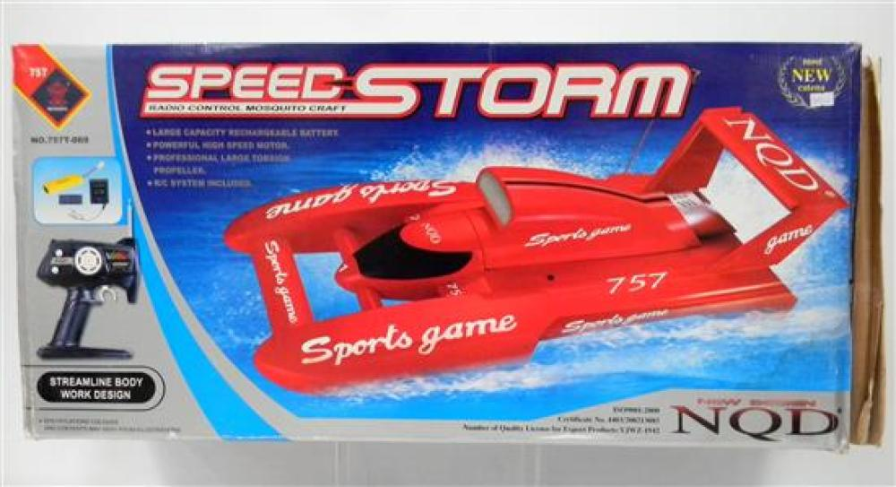 A NQD Speed Storm Radio Control Mosquito Craft [RRP $115] in Slightly Damaged Box