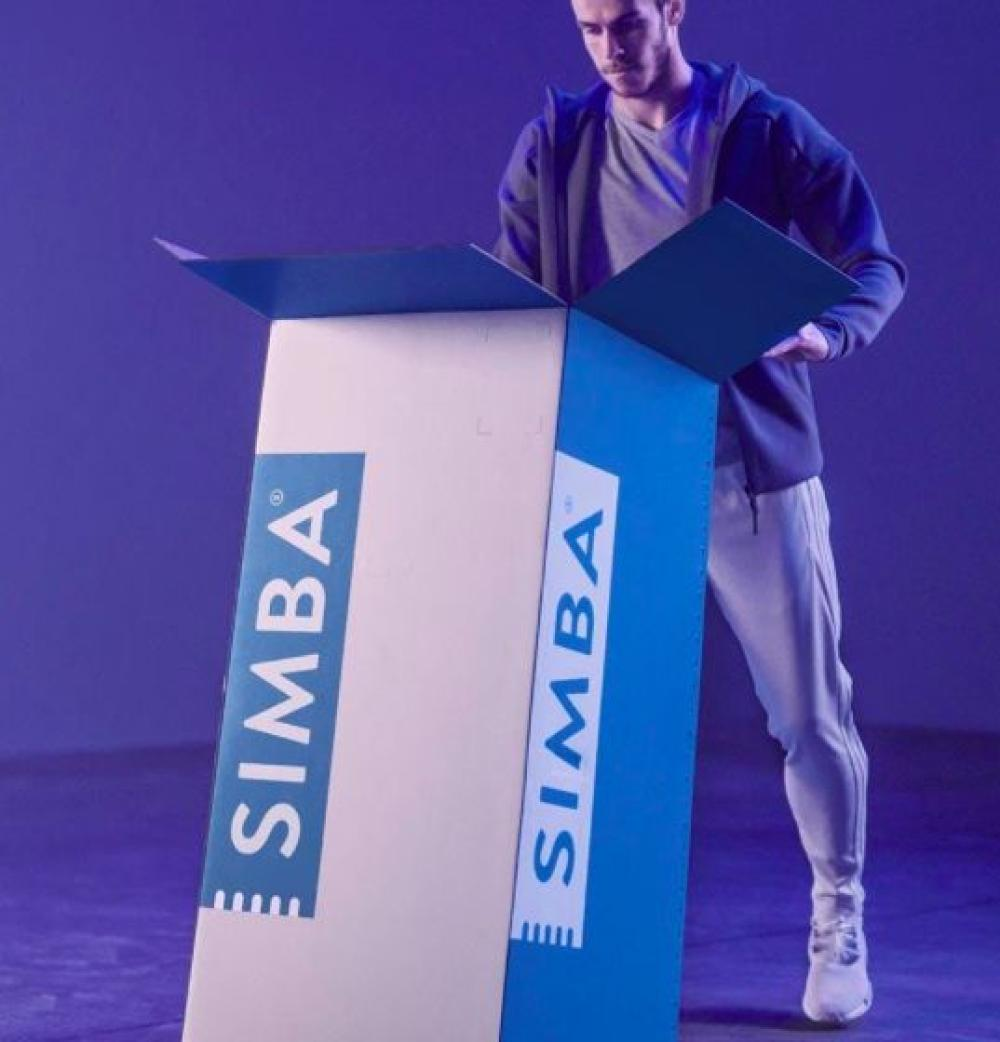 A SIMBA Hybrid King Mattress (RRP $1,299) - NEW IN BOX - Made in the UK