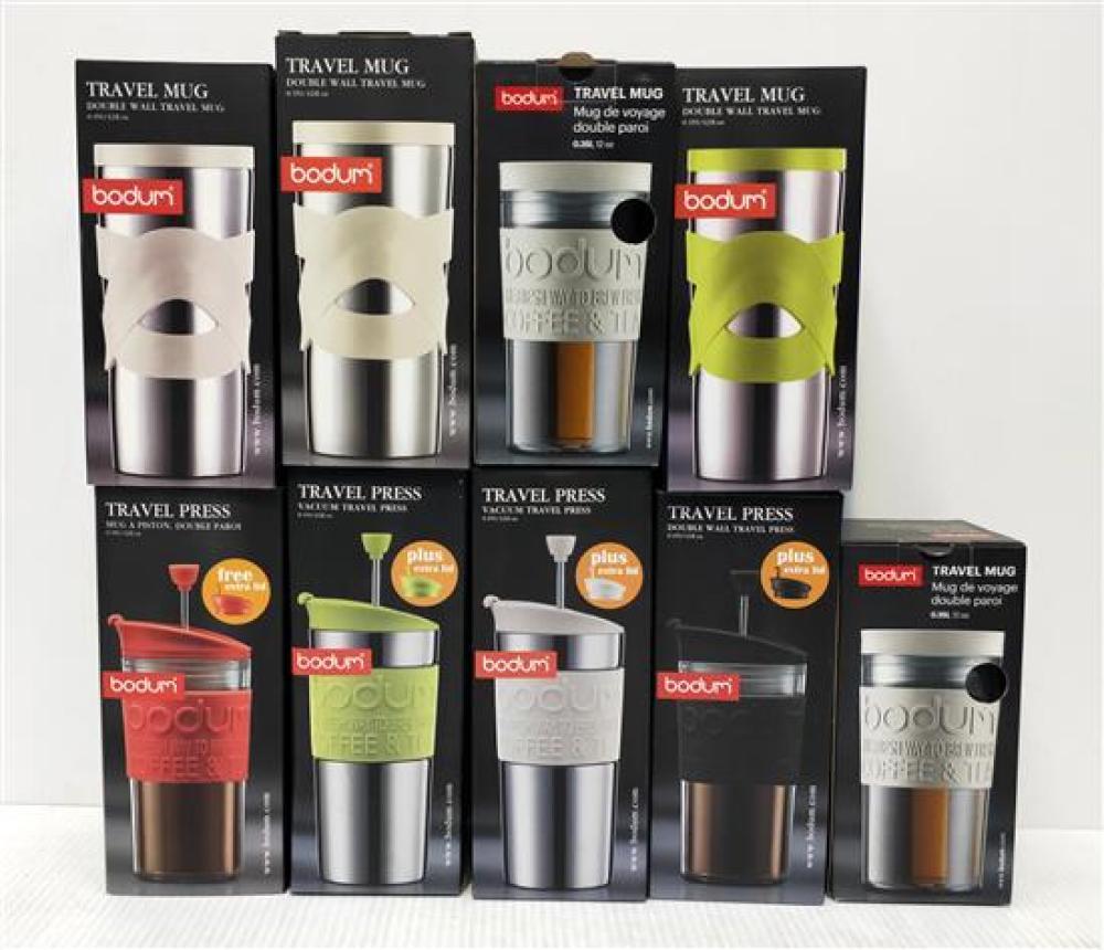 A Collection of Bodum Travel Mugs & Travel Presses [9]