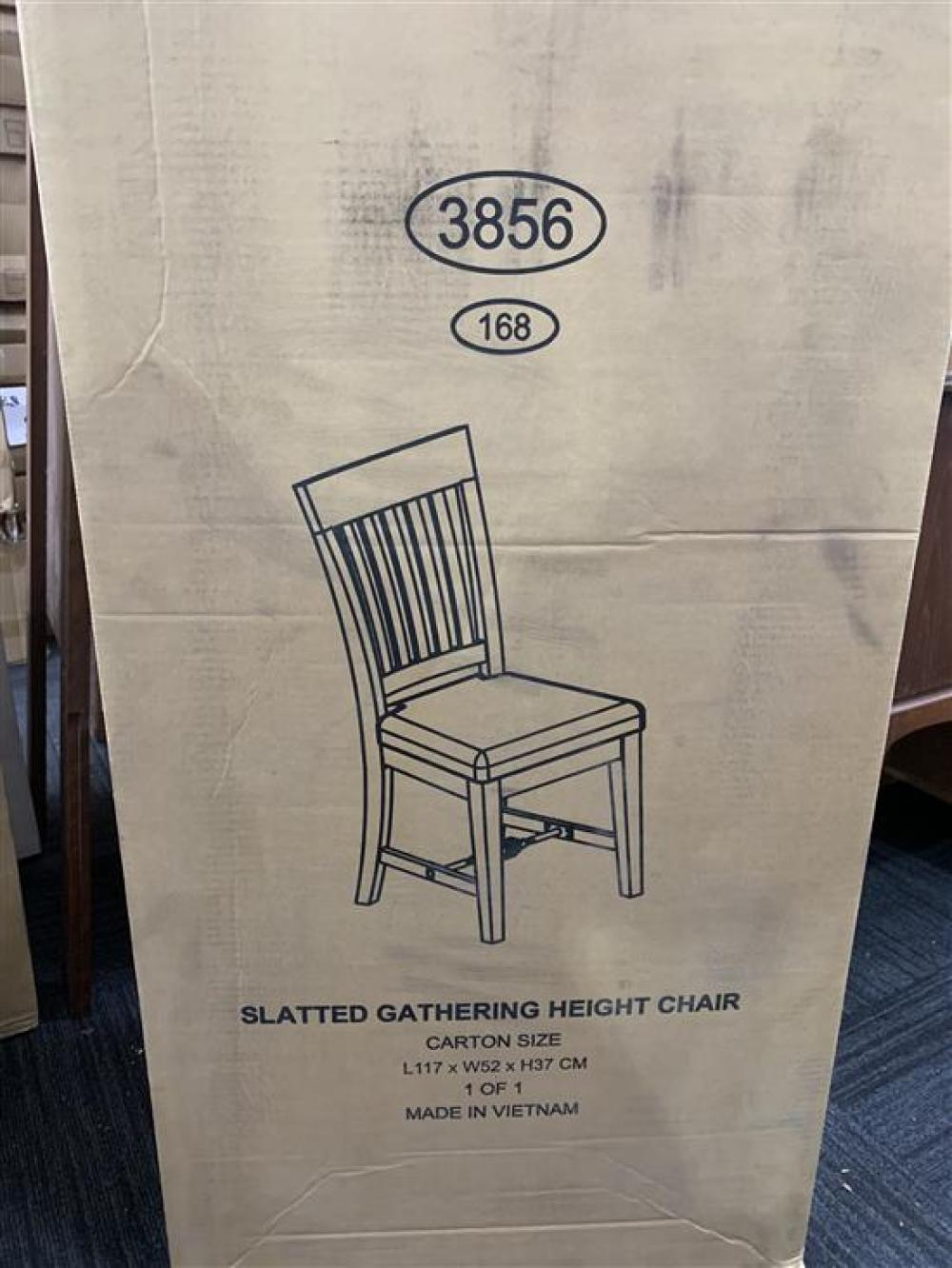 A Set of Two Hobart Gathering Height Chairs