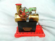 A Mamod English model steam engine