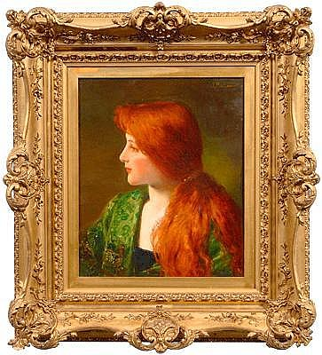 Jules Frederick Ballavoine painting (French,