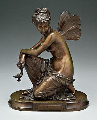 Eugene Laurent 19th century bronze (French,