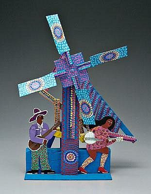 James Harold Jennings whirligig (North Carolina,