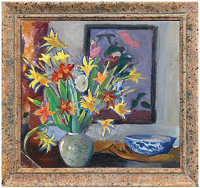 Rare Charles Sidney Hopkinson painting (Boston,