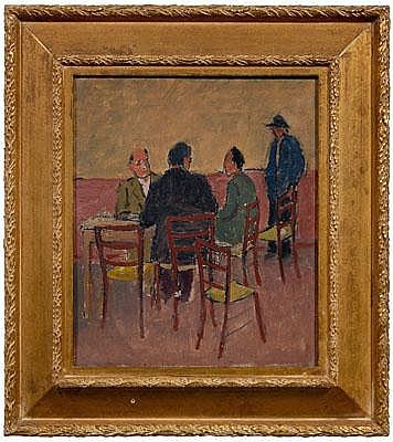Giuseppe Malagodi painting (Italian, 1890-1968),