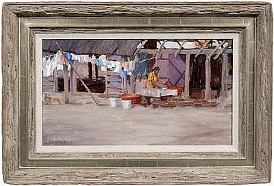 Mike Desatnick painting (Colorado, born 1943),