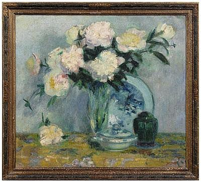 Bernhard Gutmann painting (New York, 1869-1936),