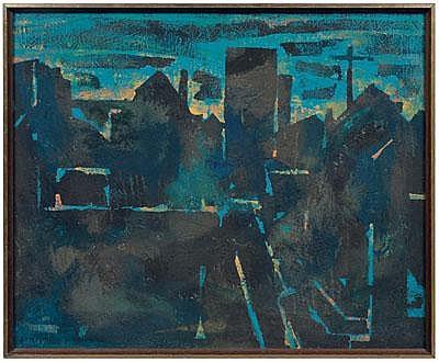 William Halsey Charleston painting (Charleston,