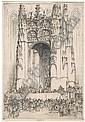 22 Jules André Smith etchings (American, born Hong, Jules Andre Smith, Click for value