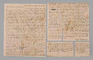 Salem Moravian Missionary Letter, Missouri, 1837,