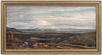 John Christopher Miles painting (Massachusetts,