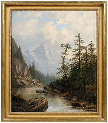 Carl Christian Brenner painting (Kentucky,