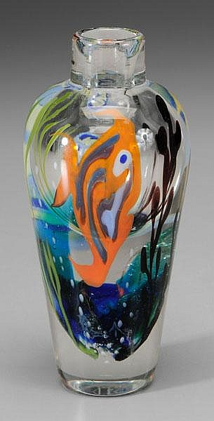 Richard Jolley Aquarium Vase
