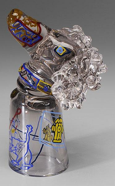 Richard Jolley Glass Poodle