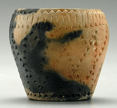 Big Meat Cherokee Pottery Vase