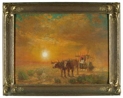 Desert scene by Ralph Davison Miller
