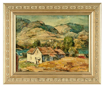 Walter Goltz painting