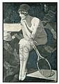 McClelland Barclay painting, McClelland Barclay, Click for value