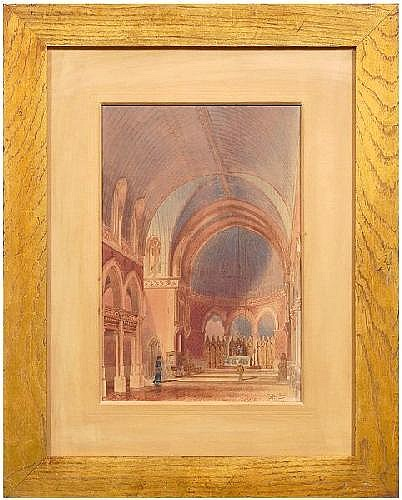 H. Hawley architectural rendering, cathedral