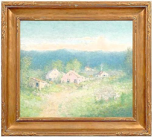 Charlotte Buell Coman painting (New York/Iowa,