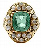 Vintage 3.77 Ct. Emerald Ring