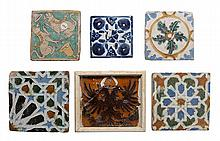 Collection of 37 Early Glazed