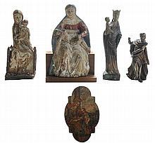 Five Figurative Devotional Works