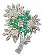 Fine Custom Vintage Emerald, Diamond