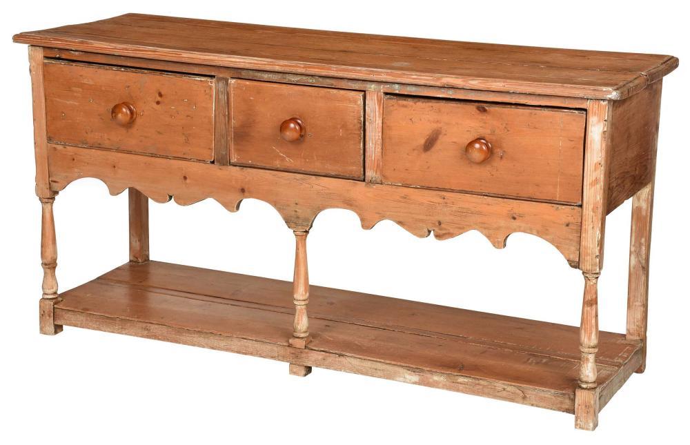Welsh Pine Three Drawer Dresser