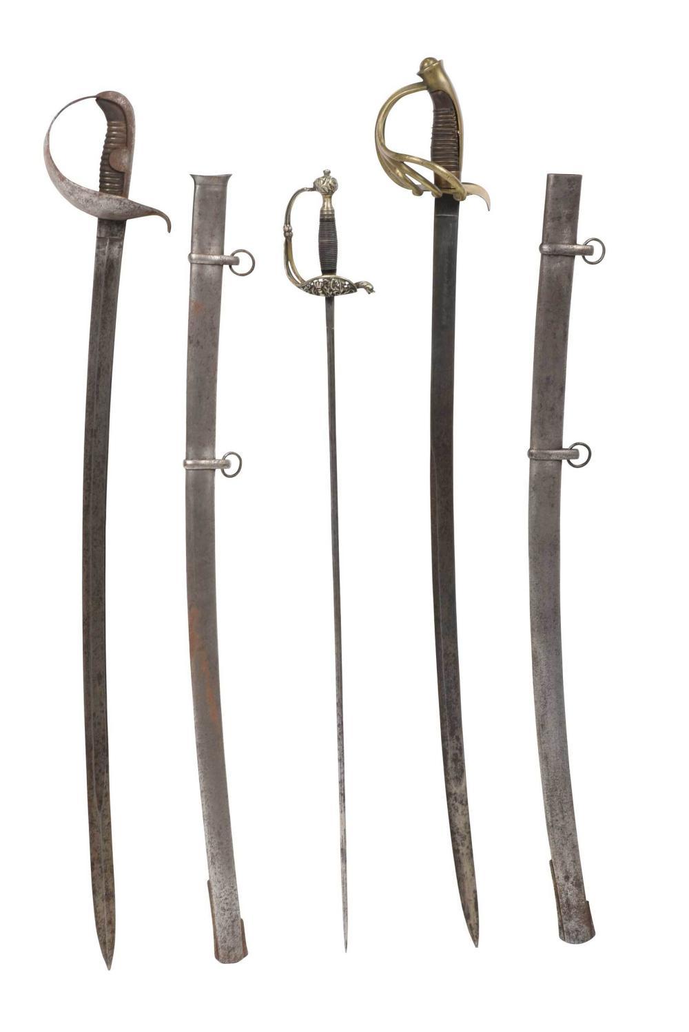 Three Spanish Bladed Weapons