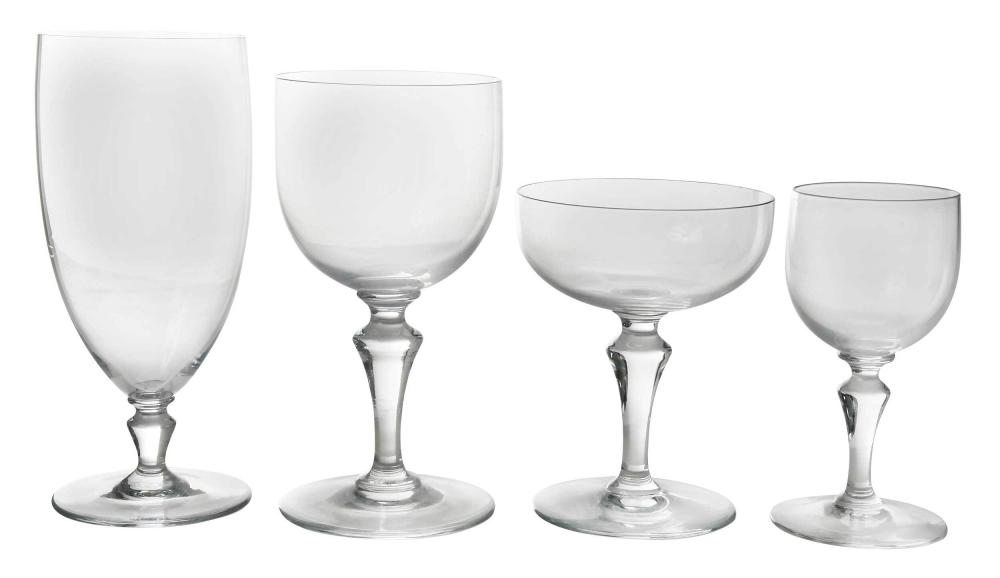 42 Pieces of Baccarat Drinkware