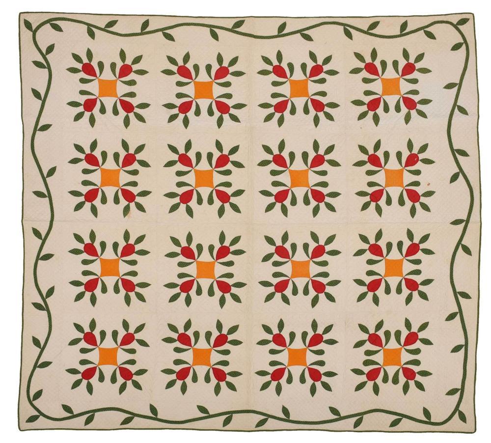 19th Century Applique Quilt