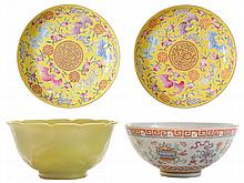 Four Pieces Chinese Porcelain