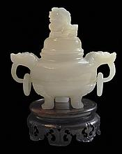 Xin-Jiang White Jade Incense Burner