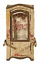 Upholstered Miniature Sedan Chair