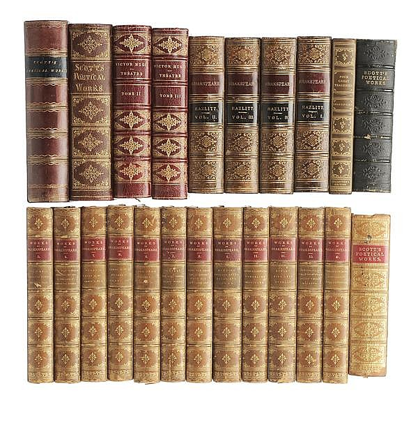 Twenty-Three Leather-Bound Books