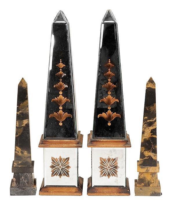 Two Pairs Obelisks