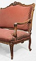 Louis XV Style Carved Walnut